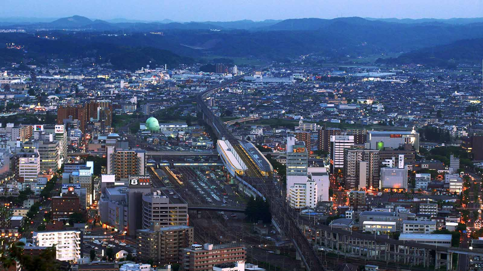 Fukashima City, Japan. By Purplepumpkins (Own work), via Wikimedia Commons