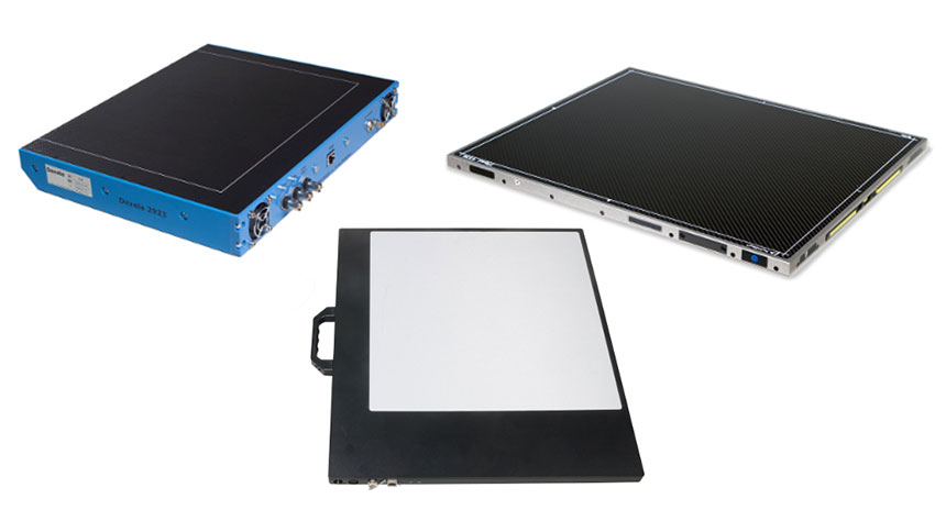 A complete family of flat panel X-ray detection solutions