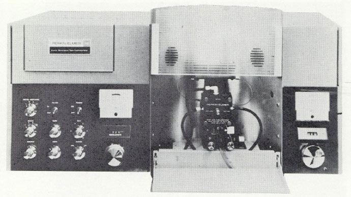 Perkin-Elmer atomic absorption spectrophotometer.
