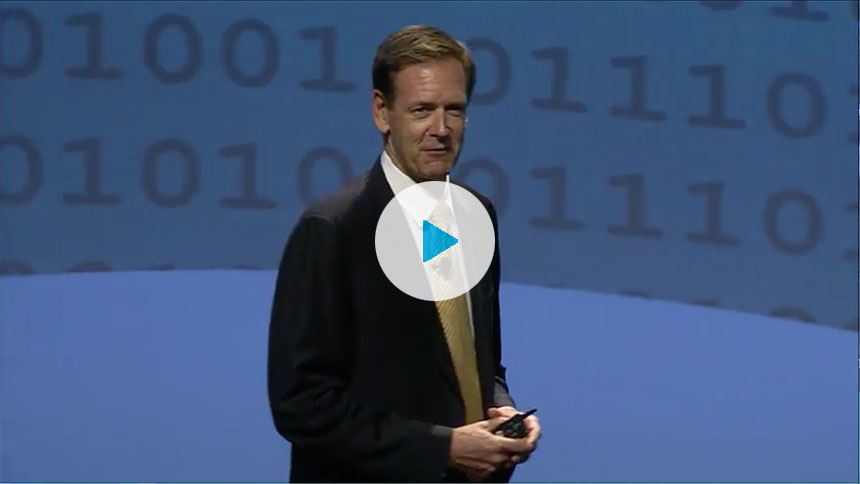 PerkinElmer CEO Rob Friel at TIBCO®'s 2012 TUCON® conference
